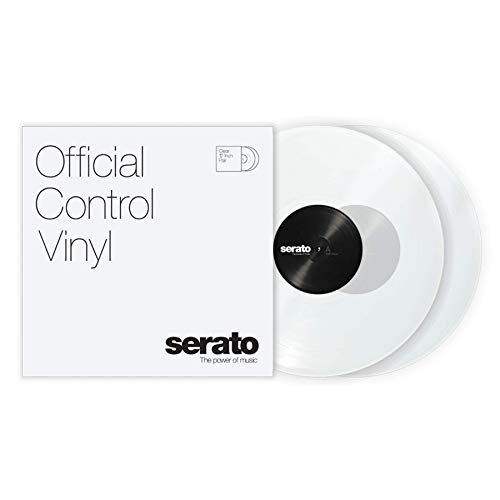 "Serato Control Vinyl 12"" Pair Clear"