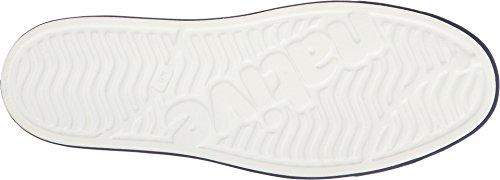native Unisex Jefferson Fashion Sneaker Shell White/Regatta Blue/Torch Block gBLnlTo