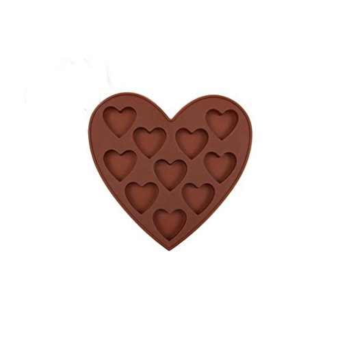 Letdown Silicone Ice Cube Tray Easy Pop Maker Heart Shape Cubes Model Valentines Gift by Letdown (Image #3)