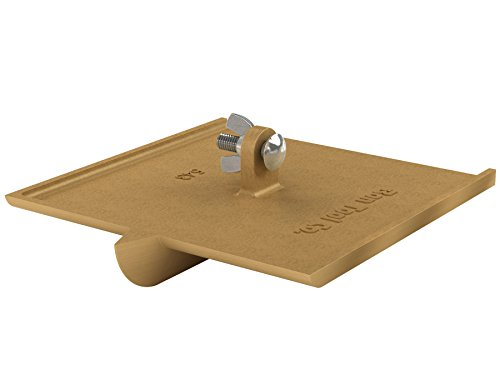 Walking Concrete Groover - Bon 12-543 1-Inch Bit Depth by 3/8-Inch Width 8-Inch by 8-Inch Walking Concrete Groover, Bronze