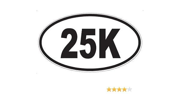 "50k Ultra Marathon Decal Sticker Runner Logo Run *Brand NEW Design 5/"""