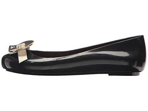 Vivienne Westwood Women's Anglomania + Melissa Space Love III Black/Light Gold 7 UK (9 US) B (M) by Vivienne Westwood (Image #3)