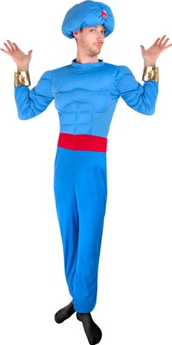 Genie Costume. Disguise Menu0027s Disney Disguise Menu0027s Disney · Adult Blue Muscle  sc 1 st  Best Costumes for Halloween & Aladdin and Jasmine Halloween Costumes for Kids and Adults