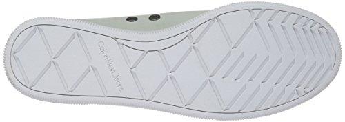 Calvin Klein Jeans Women's Sailor Nubuck Low-Top Sneakers White eU8raNdhW