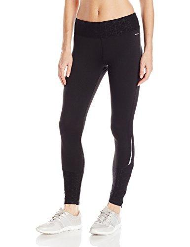 Jockey Women's Burnout Microfleece Ankle Legging, Deep Black, XL
