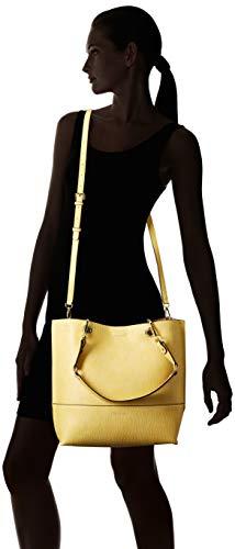 Calvin Klein Reversible Novelty Key Item N/s Tote, Light Yellow by Calvin Klein (Image #7)