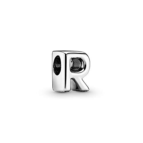 Pandora Jewelry - Letter R Alphabet Charm in Sterling Silver