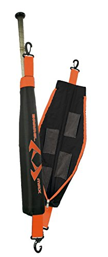 Bat Warmer - Barrel Max baseball Softball Bat Warmer/Sleeve (Orange)