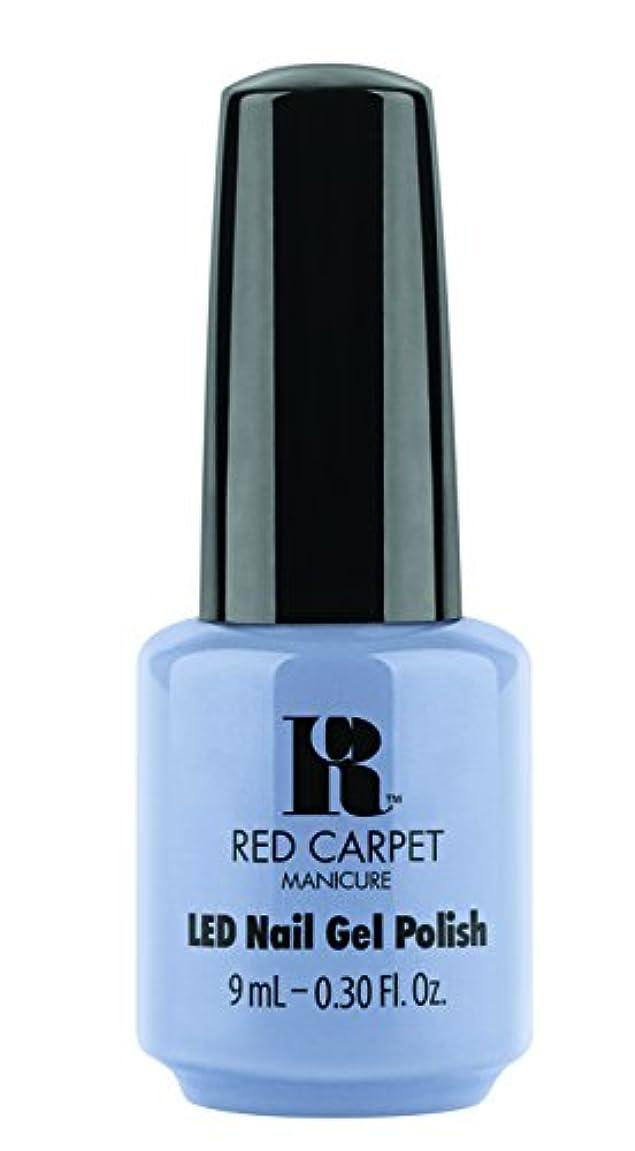パレード勝利ナプキンRed Carpet Manicure - LED Nail Gel Polish - Blue-Delicious - 0.3oz / 9ml