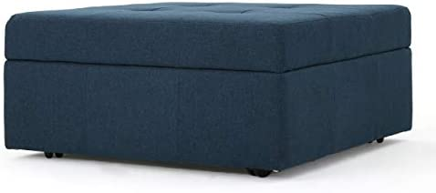 Christopher Knight Home Chatsworth Fabric Storage Ottoman
