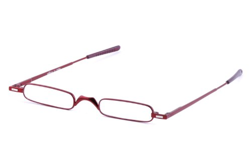 Eyestic Reading Glasses (Red, 1 x)