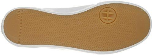Huf Mens Classic Lo Ess Tx Scarpa Da Skateboard Nero / Bianco