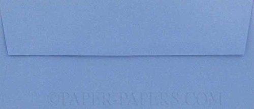 - Metallic Blue Vista No 10 (4-1/8-x-9-1/2) Envelopes 50-pk - 120 GSM (81lb Text) PaperPapers Standard #10, Professional and DIY Business Envelopes