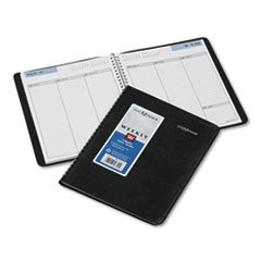 Recycled Weekly - DayMinder Recycled Weekly Planner, 6 x 9 Inches, Black,(G590-00)