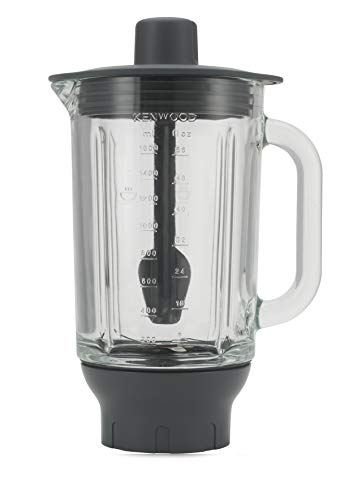Kenwood KAH359GL Cuenco licuador Vidrio 1,8 L, Gris, Transparente
