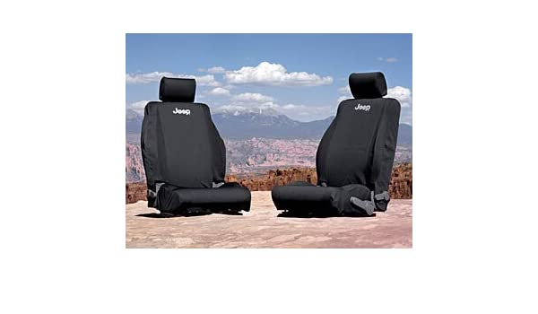 Amazon com: JEEP WRANGLER SEAT COVER COVERS FRONT 07-09