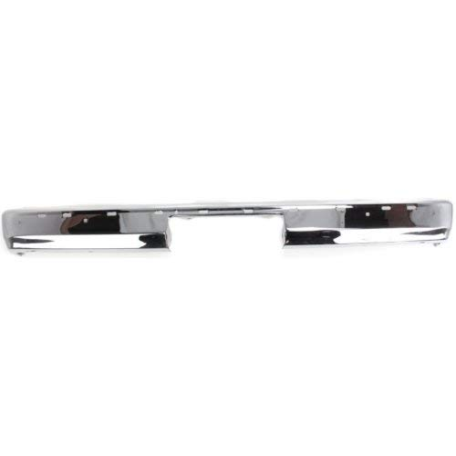 (Rear Bumper Compatible with CHEVROLET S10 BLAZER 1991-1994 Chrome)