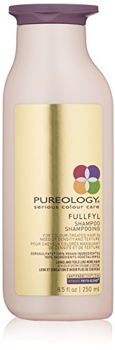 Pureology Fullfyl Densifying & Texturizing Shampoo | For Fine, Color Treated Hair | Sulfate-Free | Vegan | 8.5 oz.