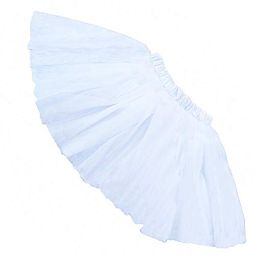 Buenos Ninos Girl's Tutu Assorted Colors (White)