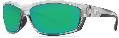 Costa Del Mar Saltbreak 400G Saltbreak, Silver Green Mirror, Green Mirror