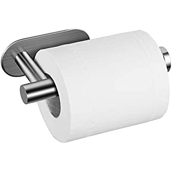 Amazoncom Taozun Toilet Paper Holder Self Adhesive Bathroom Paper