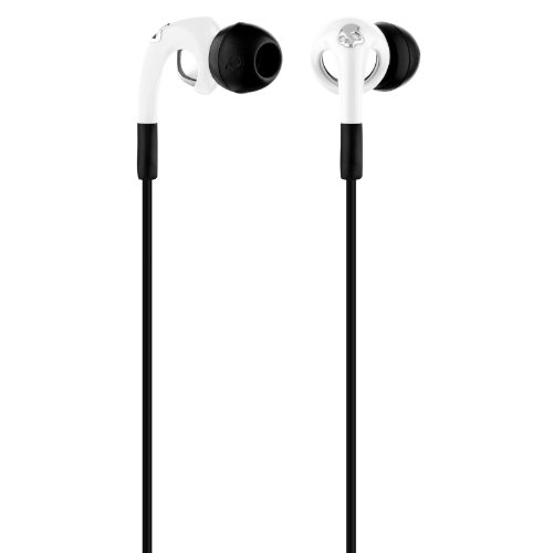 Skullcandy Unisex Fix In Ear Mic'd (2011) White/Chrome