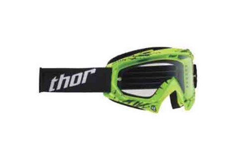 (Thor Enemy Youth Goggles , Primary Color: Green, Distinct Name: Splatter Green/Clear Lens, Size Segment: Youth, Gender: Boys 2601-1739)