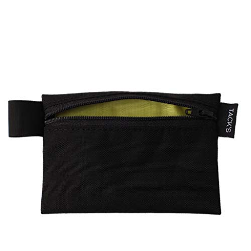 TACK'S EDC Wallet Pouch (Black & Yellow)