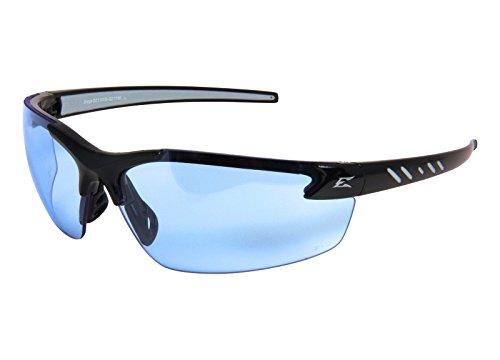 Edge Eyewear Light Blue Safety Glasses, Scratch-Resistant, - Eyewear Styles 2015