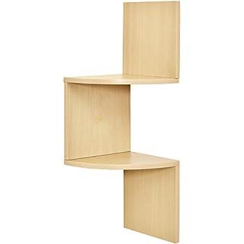 Amazon.com: XiaZ Corner Shelves Set of 3 Wall Mount Floating Shelf ...