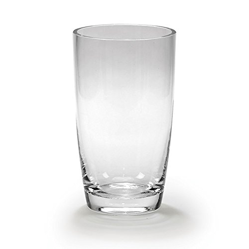 (FB Jewels Solid Optic Crystal 9.75Inch Simon Vase)