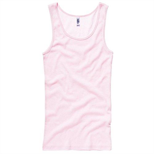 Bella Canvas Baby rib tank Top - Soft Pink - UK 10-12 / US 6-8 / EU 38-40