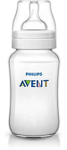 3 x Philips Avent Classic+ Babyflasche/ ab dem 3. Monat/ je 330ml/ SCF566/17/ mit variablem Nahrungsfluss/ vermindert Koliken/ PZN10735889