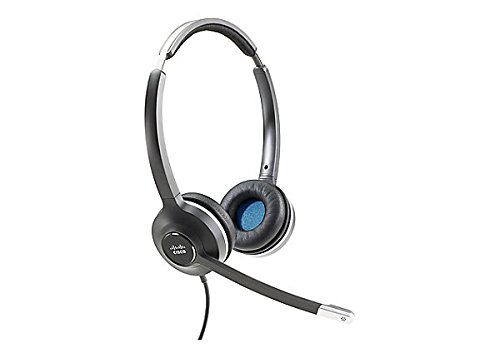 (Cisco Headset 532 (Wired Dual with Quick Disconnect coiled RJ Headset Cable) - Stereo - Quick Disconnect - Wired - 90 Ohm - 50 H)