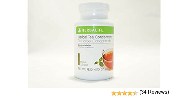 HERBALIFE THERMOJETICS INSTANT HERBAL BEVERAGE 100g: Amazon.es ...