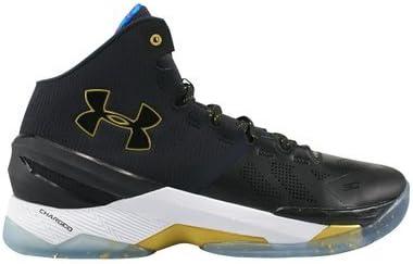 Fundador dispersión azufre  Amazon.com | Under Armour Curry 2 Elite LE SZ 7.5 Black & Gold 1280303-001  | Fashion Sneakers