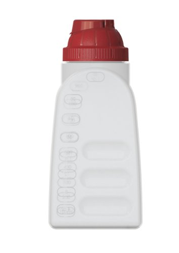 United Solutions FS0039 BPA-Free One Quart Plastic Refrigerator Bottle with Lid-1QT/.94L Plastic Refrigerator Bottle with Cap