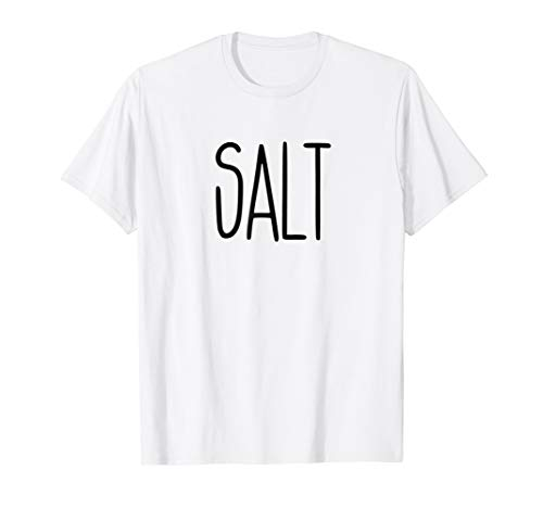 SALT and Pepper Shirts Halloween Costume for Couples -