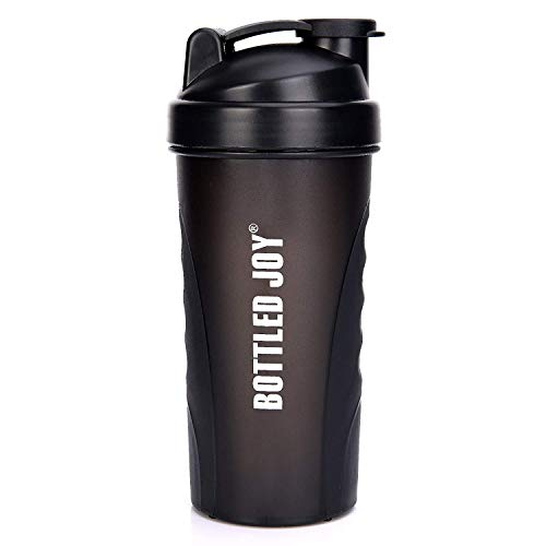 BOTTLED JOY Protein Shaker Bottle, Sport Water Bottle with Large Capacity,Shaker Cups 800ml,Drinking Bottle Mixer Shaker for Gym/Outdoor/Sports (Sport Mixer)