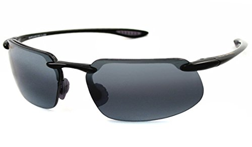 Maui Jim Kanaha 409-02 | Sunglasses, Neutral Grey Lenses, with with Patented PolarizedPlus2 Lens Technology