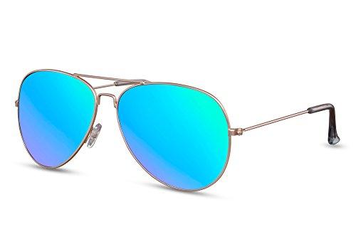 Plateado de Metálicas Piloto Aviador Sol Cheapass Diseñador 016 Espejadas UV Hombres 400 Ca Gafas Gafas Mujeres 4x1Zqwp