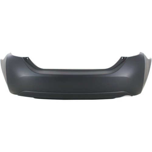 (Rear Bumper Cover for TOYOTA COROLLA 2014-2018 Upper Primed Lower Textured)