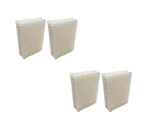 NEW, Quality Compatible 14911 HDC-12 ES12 Kenmore Humidifier Wick Pad Filter (4-Pack)