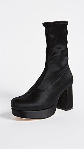 Isa Tapia Womens Brooke Platform Boots Zwart