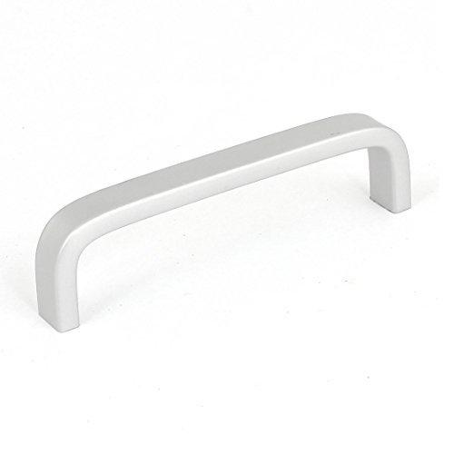 Suite Armoire - eDealMax Armoire armoire à tiroirs Porte 10cm Longueur alliage Tirez la poignée ton Argent