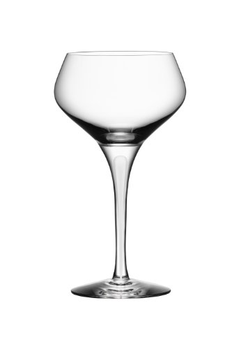 Orrefors Intermezzo Satin - Orrefors Intermezzo Satin Coupe Champagne Glass