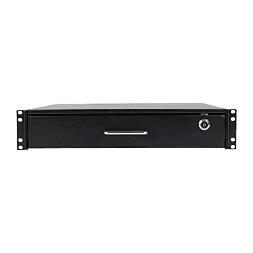 OKSLO Smartrack 2u locking rack-mount storage drawer