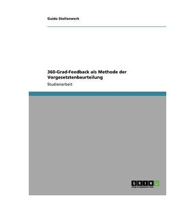 Download 360-Grad-Feedback ALS Methode Der Vorgesetztenbeurteilung (Paperback)(German) - Common ebook