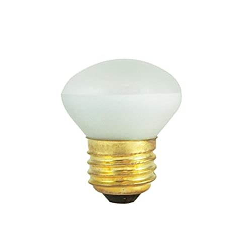 (10 Pack) 25 Watt - R14 Short Neck - Reflector Flood - 120 Volt - Medium/ Standard Base - Incandescent Light Bulb - (25 Watt Type A Light Bulb)