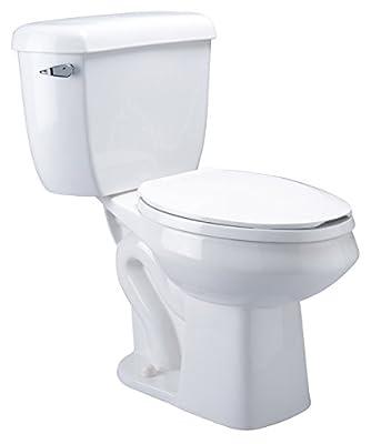 Zurn Z5570 Elongated Pressure Assist, 1.6 gpf, Two-Piece Toilet